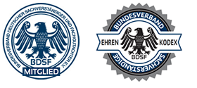 Mitglied im Bundesverband Deutscher Sachverständiger und Fachgutachter e.V.